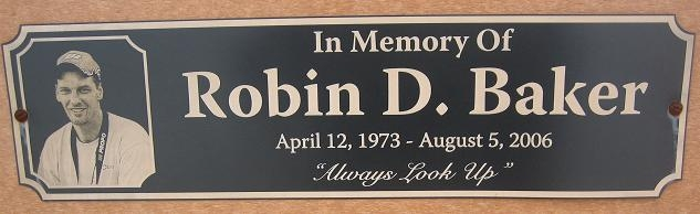 Free Laser Engraved Poly Plate with purchase of a Park Bench
