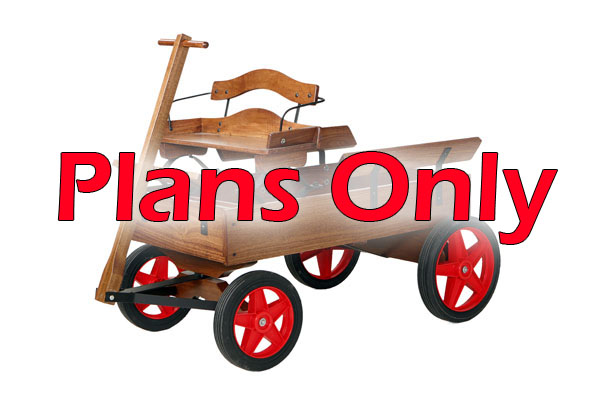 Childs Wooden Wagon Plans