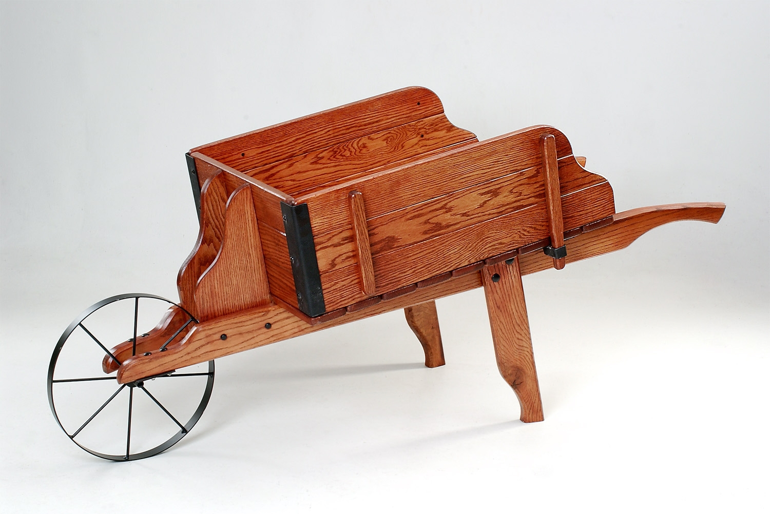 Antique Wheelbarrow Kit with removable sides