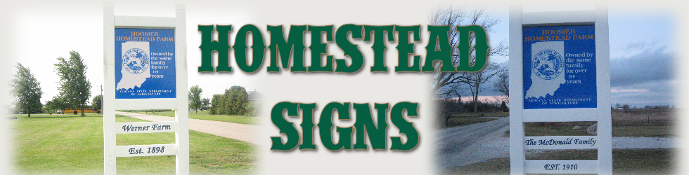 Homestead Signs