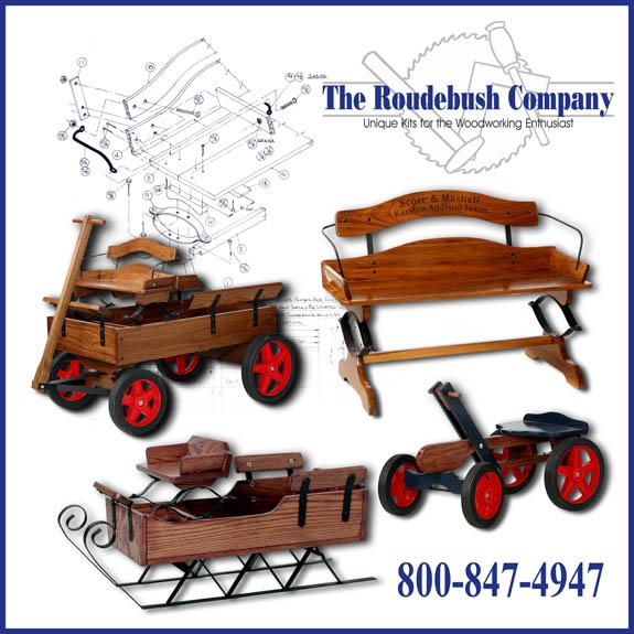 Purchase any 2 woodworking kits & get FREE shipping