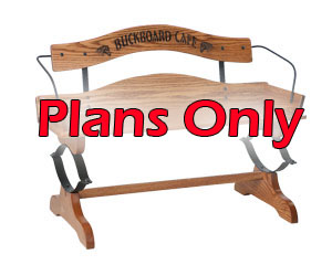 Buckboard Bench Kit - Plans Only