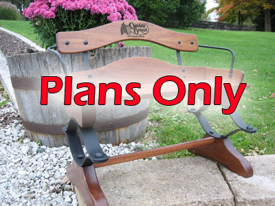 1/2 Scale Buckboard Bench Kit - Plans Only