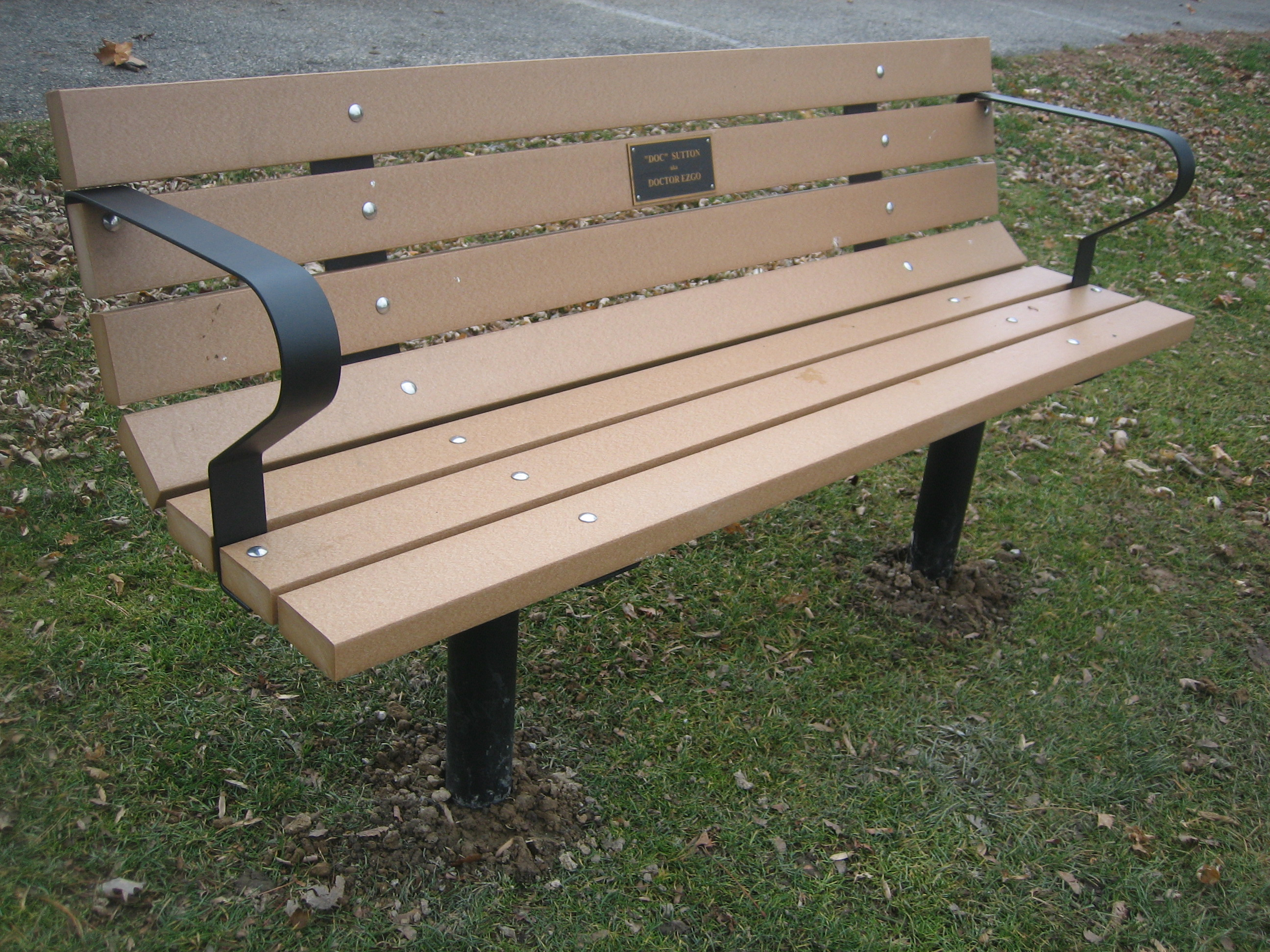 Wood Work Park Bench Kit Pdf Plans