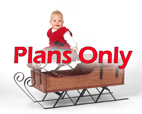 Buckboard Sleigh - Plans Only